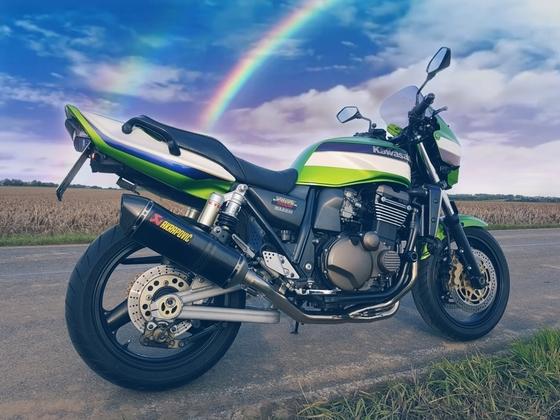 Meine ZRX R